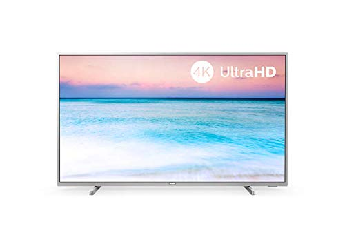 Philips Serie 6500 43PUS6554 12 TV Colore Argento 4K Ultra HD Smart TV Wi-Fi Argento