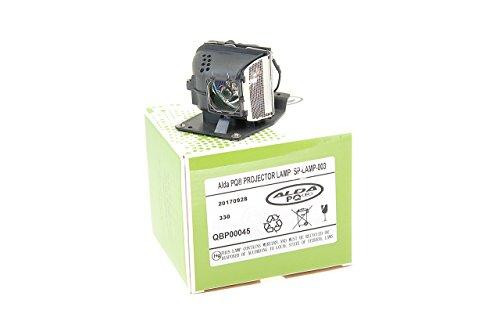 Alda PQ-Premium, Beamerlampe / Ersatzlampe kompatibel mit SP-LAMP-003, TLPLP5, XD2M-930 für Ask M2, M2+ FUJITSU-Siemens XP 60, XP 70 INFOCUS LP70, LP70+, M2 Projektoren, Lampe mit Gehäuse