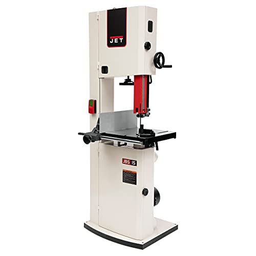 JET JWBS-15, 1.75-HP, 15' Woodworking Bandsaw (714600)