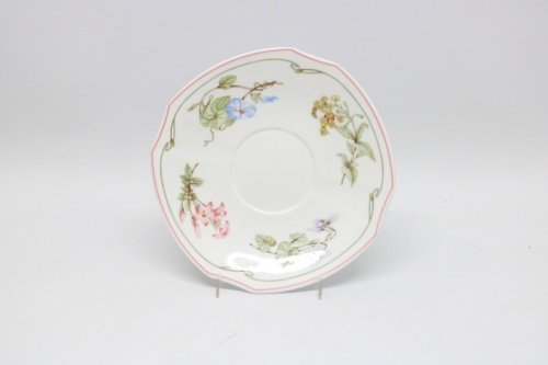 Villeroy & Boch VB Clarissa 1748 Bone China Mettlach Untertasse für Suppentasse