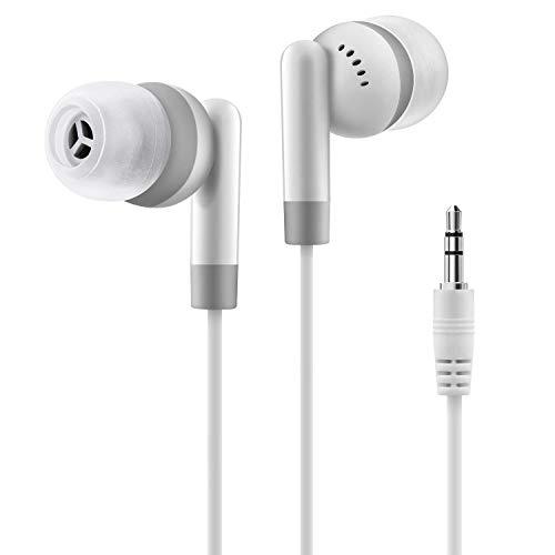 dizauL - Auricolari Stereo in-Ear con Microfono, 3,5 mm