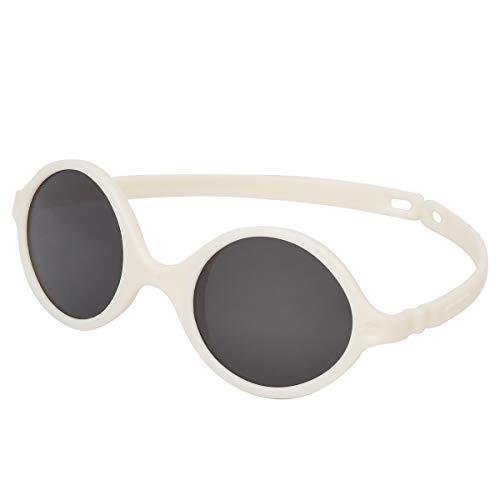Ki ET LA - Gafas de sol UV para bebés - Diabola - Color blanco