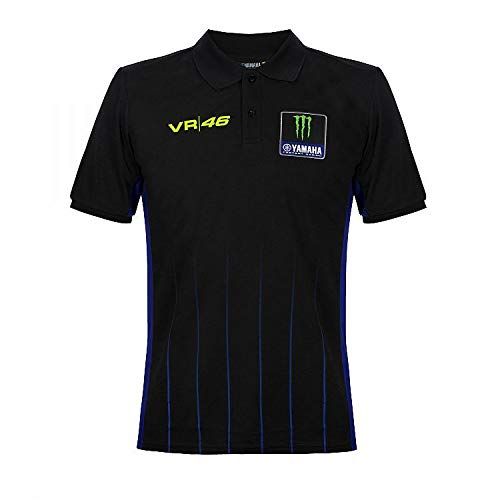 Valentino Rossi VR46 Moto GP M1 Power Line Yamaha Polo Shirt Officiële 2020
