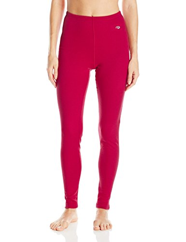 Duofold Women's Thermal Pant, Berry Delight, M