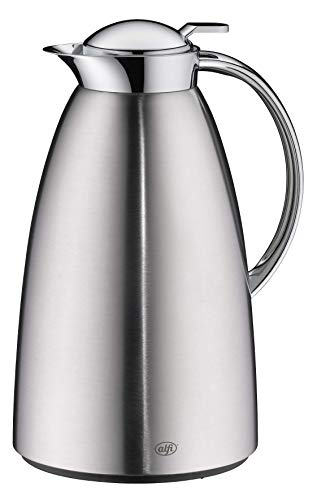 alfi Gusto Thermoskanne, Chrome mat, 1,5 Liter