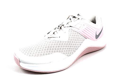 Nike MC Trainer, Scarpe da Ginnastica Donna, Platinum Tint/Metallic Silver, 45 EU