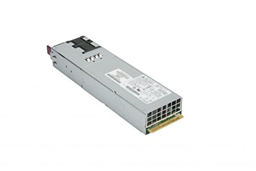 Supermicro PWS-1K66P-1R 1U 1600W Redundant Platinum Power Supply 73.5mm Width, RoHS Reach, PBF