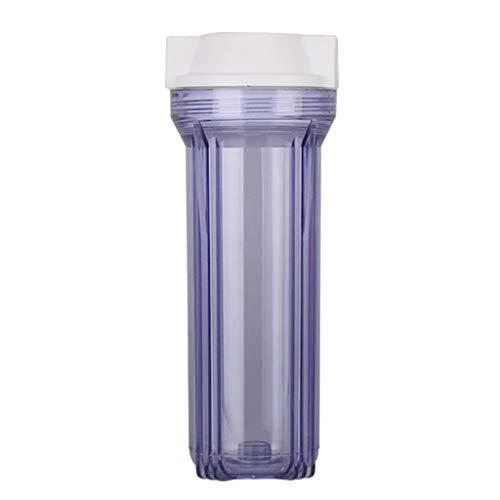 Amuzocity Filtro de Botella a Prueba de Explosiones de 10 Pulgadas Piezas de Filtro de Agua Conector de 1/2'