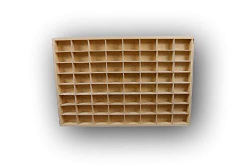 Dekoralove Schlichtes Holzregal für Spielzeug, Schublade