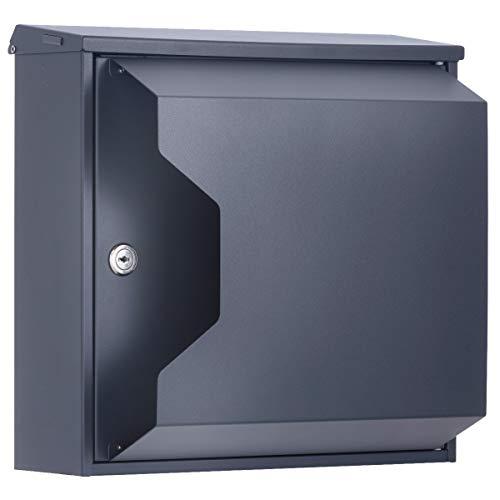 Designer-Briefkasten in futuristisch angehauchtem Design