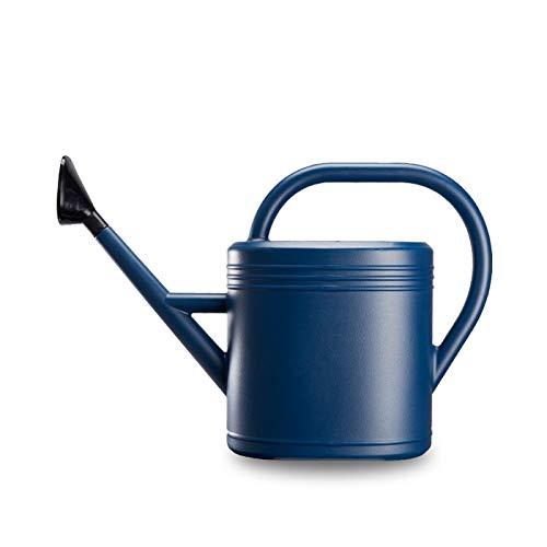 じょうろ おしゃれ 大容量スプリンクラーステンレス鋼プラスチックじょうろ花に水をまく家庭菜園大容量10L水差し 大容量ろ花の水差し大容量 (Color : Blue, Size : 3L)