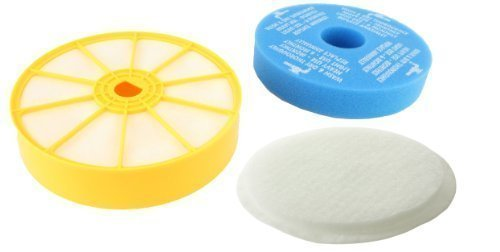 First4Spares - Filtre lavable rond Pré et Post Moteur + Coussin pour Aspirateurs Dyson DC07