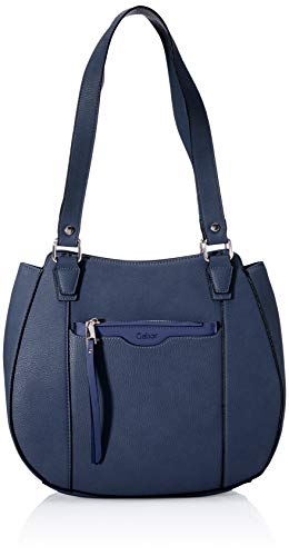 Gabor Damen Inna Hobo Bag, Dark Blue, L