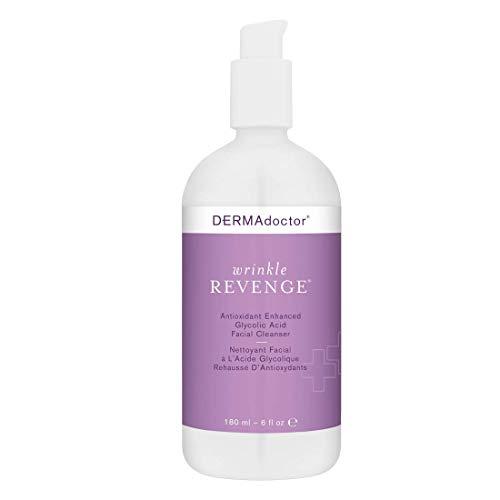 DERMAdoctor Wrinkle Revenge Antioxidant Enhanced Glycolic Acid Facial Cleanser 6 fl oz