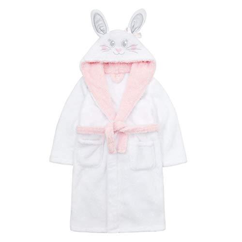 Albornoz de felpa con capucha para niñas de Lora Dora