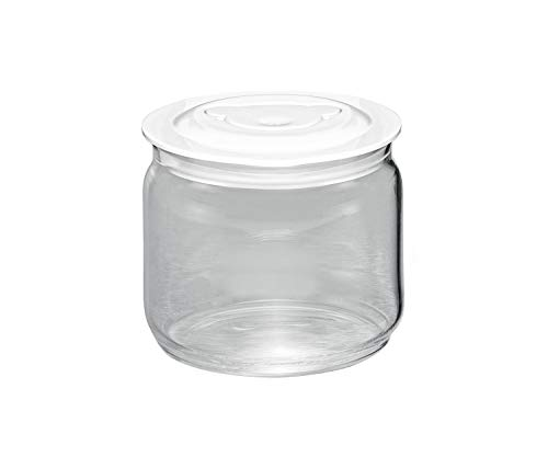 ROMMELSBACHER JG 05 Glasbehälter, Glas, weiß/durchsichtig