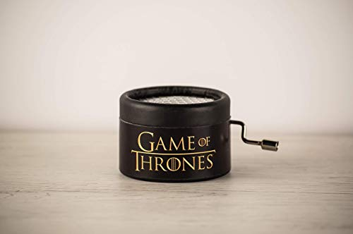 Caja musical Juego de Tronos con la melodía de la intro. GOT Game of Thrones. Packaging...