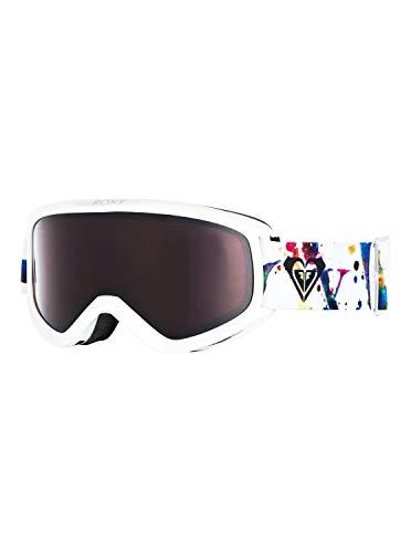Roxy Day Dream-Snowboard/Esquí Máscara para Mujer, Bright White Magic Carpet, 1SZ