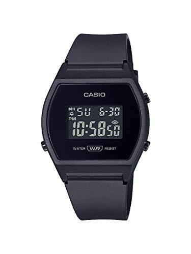 Casio Women's Quartz Sport Watch with Resin Strap, Black, 21 (Model: LW-204-1BCF)