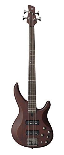 Yamaha TRBX504 TBN 4-String Premium Electric Bass Guitar,Translucent Brown