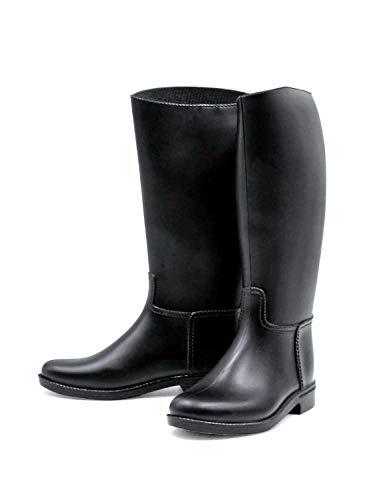 AMKA Reitstiefel | Reiter Stiefel für Damen Reitstiefel mit Sporenhalterung Fußeinlagesohle aus Kunststoff genaue Maße entnehmen Sie Tabelle oder Bild