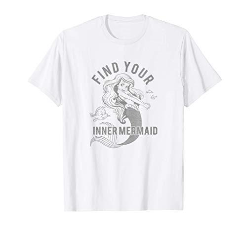 Disney The Little Mermaid Ariel & Flounder Inner Mermaid T-Shirt