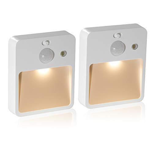 3 x Lampe Nocturne DEL Plug in Automatique Capteur Energy Saving Children nursery Baby NEUF