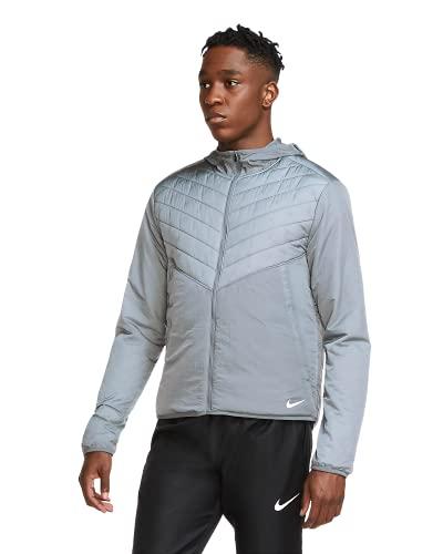 Nike Men's AEROLAYER Full Zip Lightweight Running Jacket (Grey) Size Medium