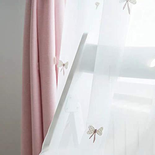 Gordijnen MYKK Geborduurde gordijnen Woonkamer Gordijnen van hoge kwaliteit voor slaapkamer Kamer 1 PC 250W 250H tule