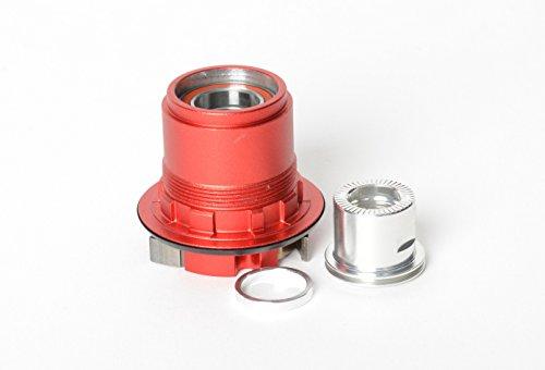 NoTubes Freilauf XX1 XD für Stan's 3.30/3.30 Ti 12x142mm Steckachse, ZH0147 Laufräder, rot