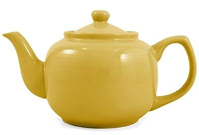 Ceramic Yellow Classic 2 Cup Teapot