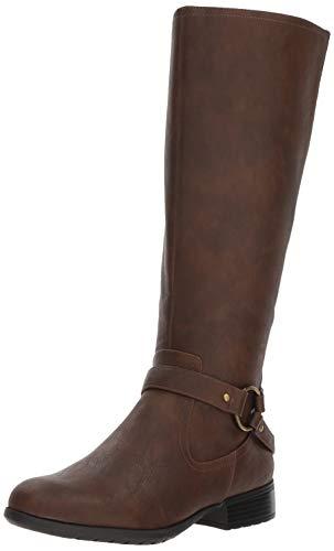 LifeStride Women's X-Felicity Knee High Boot, Dark Tan, 9 M US
