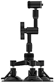 1PC AFVO Mounting Plate for DJI Ronin S with 1//4 Threaded Holes with Built-in Rosette Mount Adapter