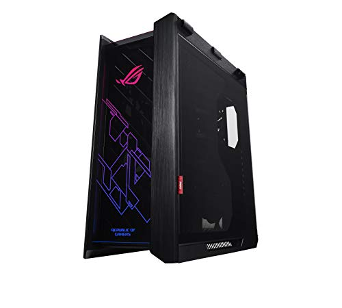 ASUS ROG Strix Helios RGB ATX/EATX Mid, Tower Gaming Case with Tempered Glass, Aluminium Frame, GPU Braces, 420 mm Radiator Support and Aura Sync