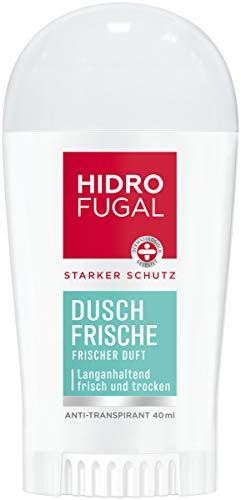 Hidrofugal Dusch-Frische Stick (40 ml), starker Anti-Transpirant Schutz mit angenehm frischem Duft, Deo für starken Schutz ohne Ethylalkohol