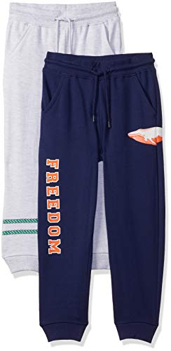 Amazon Brand - Jam & Honey Boy's Relaxed Joggers (PAG-73_Multi 8_6-7 Years)