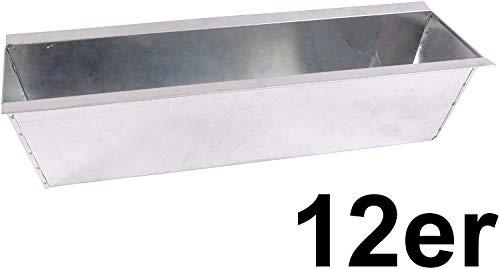 CB Home % Style 12 x Blumenkasten Pflanzkasten Set Einsatz für Europaletten Balkonkasten Palette Topf (12)