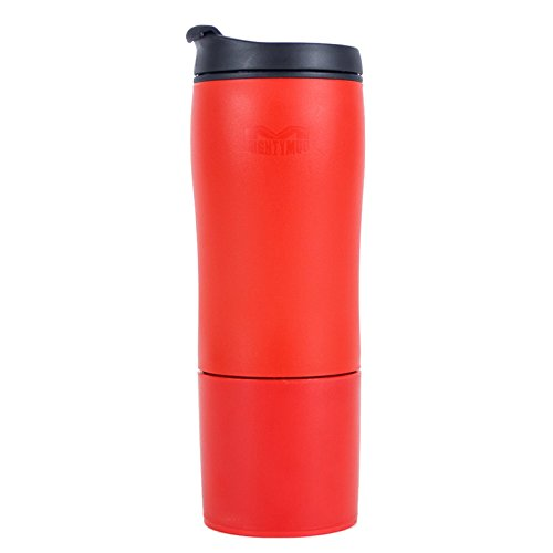 Mighty Mug Biggie Tumbler, The Travel Mug That WonÕt Fall, with BPA-free Plastic, Red, 18 oz