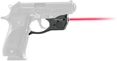 ArmaLaser TR29 Designed to fit Bersa Thunder Plus Ultra Bright Red Laser Sight Grip Activation product image