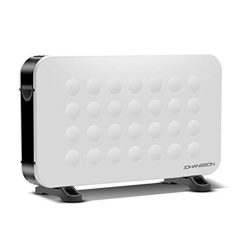 Johannson Ventilador Calefactor de la Marca, convector eléctrico 750/1250 / 2000 W Regulable para Uso en Interiores.J