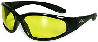 Hunting Shooting Construction Safety Glasses with Yellow Lenses Meet ANSI Z87.1-2003 Standards for Safety Eyewear These are Almost Indestructible give Them a Try You Will See
