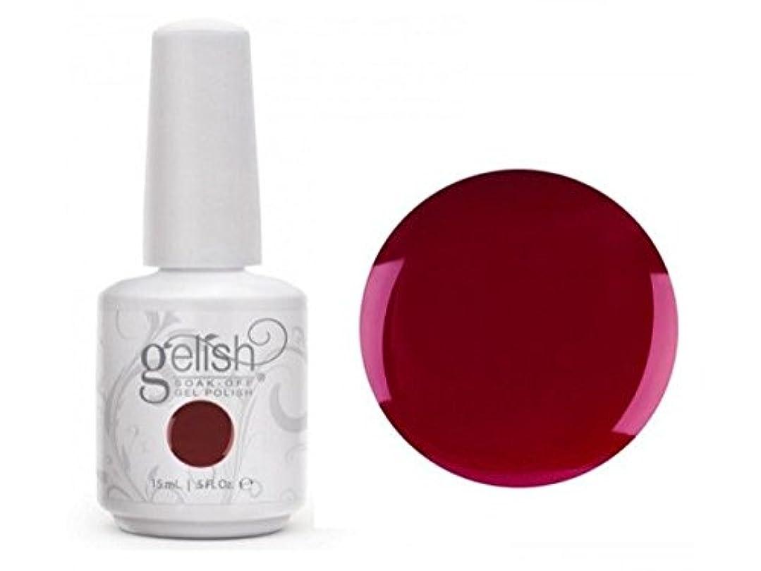 赤外線アラバマ詳細にHarmony Gelish Gel Polish - Hello, Merlot! - 0.5oz / 15ml