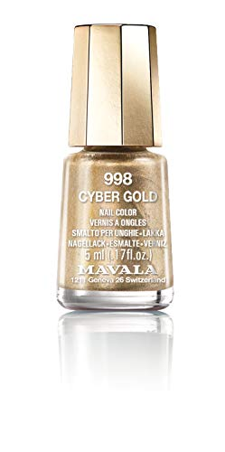 Mavala Nail Polish Cyber Chic Collection Cyber Gold 15ml