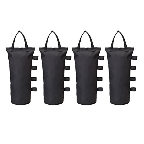A/A Gazebo - Bolsas de arena para tienda de campaña, resistente al agua, resistentes, duraderas, con pesas, plegables, portátiles, para toldo, tienda...
