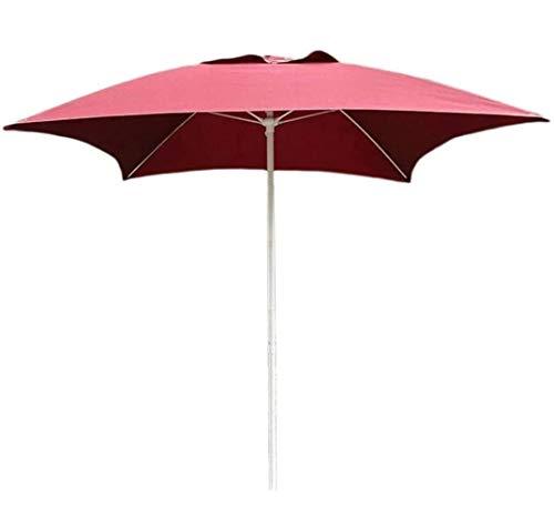 DHTOMC Ruinaier Houswares Sun Parasol Umbrella Garden Parasoles Patio Patio Patio Jardín Mesa de jardín Umbrella, Patio al Aire Libre, Playa Mercado Comercial de Eventos, Lado de la Piscina, Ro