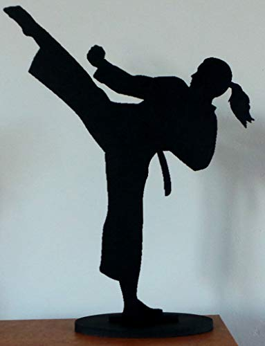Female Martial Arts, Karate, Kung Fu Figure ~ approx 24cm tall
