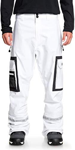 DC Revival Snowboard Pants Mens Sz XL White
