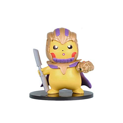 Pikachu Cosplay Avengers-Series Figure Collectible Model Action Toys Anime Gifts (Thanos)