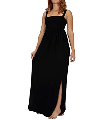 Hurley W Lei Maxi Dress Vestido, Mujer, Black, M