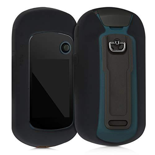 kwmobile Cover in silicone compatibile con Garmin eTrex 22x / 32x - Custodia protettiva antiscivolo...